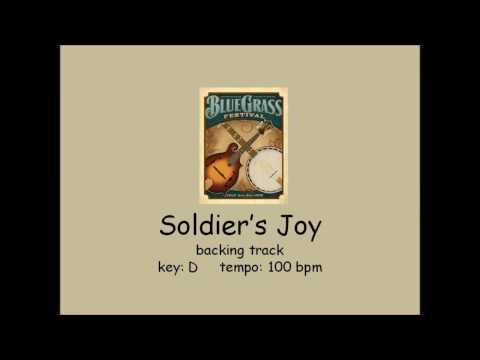 Soldier's Joy - bluegrass backing track