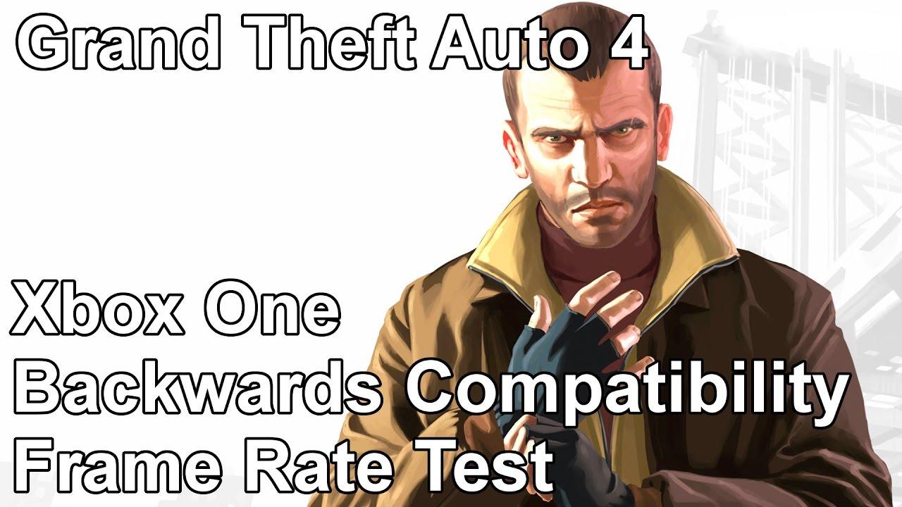 Grand Theft Auto 4 Xbox 360 vs Xbox One Backwards Compatibility ...