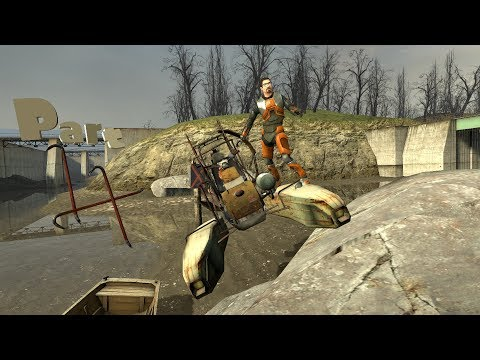 Half-Life 2 Part 4 Water Hazard  1/3 [so much water]