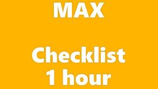 MAX - Checklist 1 hour with lyrics