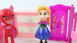 Anna Ve Elsa Evcilik Oyunu Eğlenceli Videolar