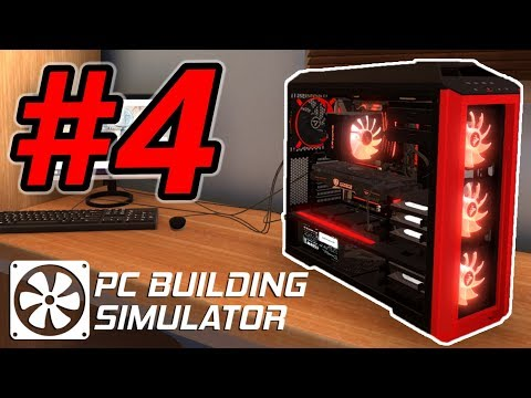 Replacing a Dead Motherboard! - PC Building Simulator Gamepl