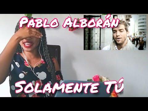 Pablo Alborán - Solamente Tú Reaction | VINVAE