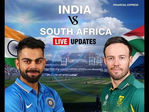 Cricket ind vs south africa live streaming