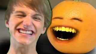 Annoying Orange - Annoying Orange vs. FRED!!!(NEWEST VIDEO: http://bit.ly/30MinsAO ➤ AO GAMING CHANNEL! ▸ http://bit.ly/AOGaming ➤ Don't be an apple! Subscribe! It's FREE! ▸ http://bit.ly/AOSub ..., 2010-06-25T06:53:04.000Z)