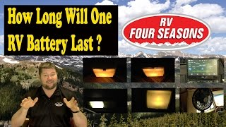 How Long Will One RV Battery Last?