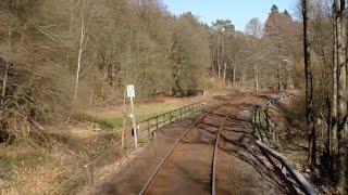 Führerstandsmitfahrt - BR VT 643 - von Pirmasens Hbf nach Kaiserslautern Hbf - DB Bahn Nr.60