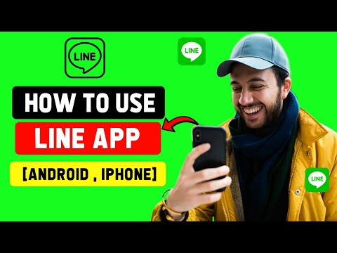 How to Use Line App Full Tutorial [2020]