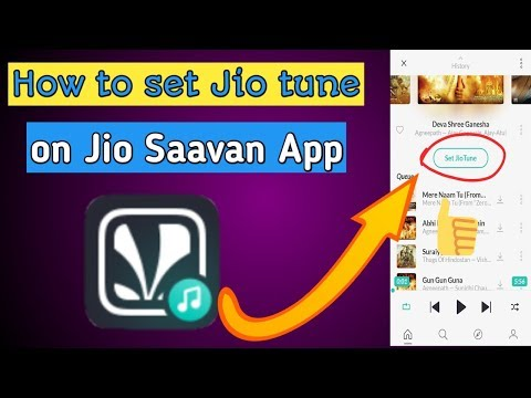 How to set jio tune in jio saavn app | Jio Caller tune kaise set kare jio saavn app me