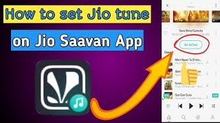 How to set jio tune on saavn app caller kaise kare me in o...