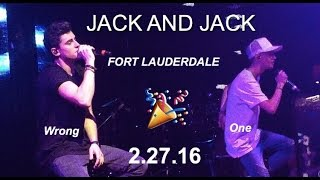 Jack and Jack - Wrong One live in Fort Lauderdale