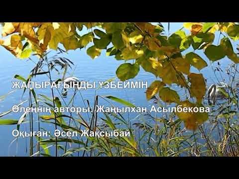 Поэзия. Жаңылхан Асылбекова.  Әсел Жақсыбай