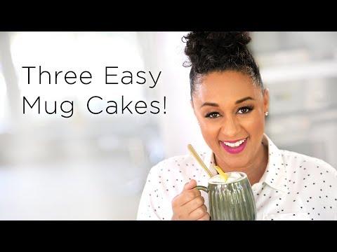 Tia Mowry's 3 Easy Microwave Mug Cake Recipes    Quick Fix