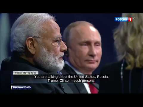 Putin Insults American Journalist And Modi Infront of Everyone !!!