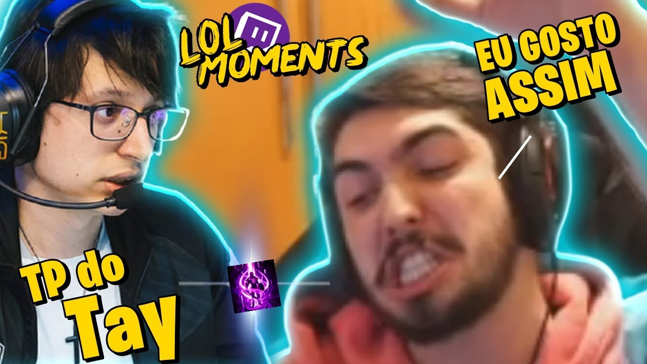 TAY CRIMINOSO NO MUNDIAL & JUKES TILTANDO CHALLENGERS | LOL Moments BR