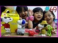 MCDONALD'S HAPPY MEAL SURPRISES Toys Review Snoopy's World Funny Kids Baby Video #69 GenesisFamily +