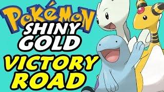 Pokémon Shiny Gold (Detonado - Parte 17) - Victory Road!!