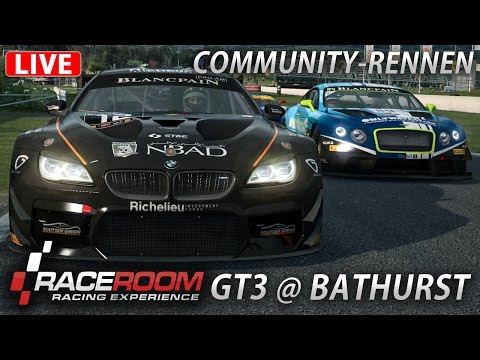 Community-Rennen 21 - RaceRoom - LIVE [HD] [GER] GT3 @ Mount Panorama Circuit Bathurst