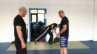 VIP Protection, basics, with Amnon Darsa at Expert Camp, day 4, Institute Krav Maga Netherlands.