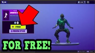 HOW TO GET SMOOTH MOVES EMOTE FOR FREE! (Fortnite Old Emotes)
