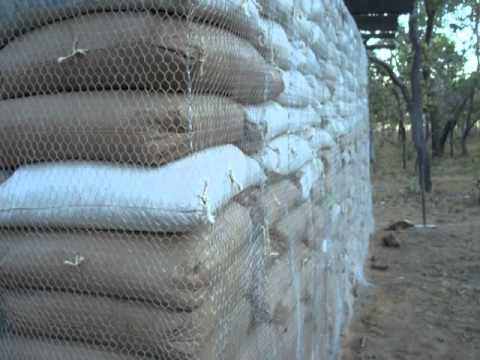 Earthbag Building Zambia Youtube