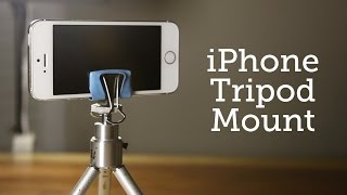 Diy Iphone Tripod Mount