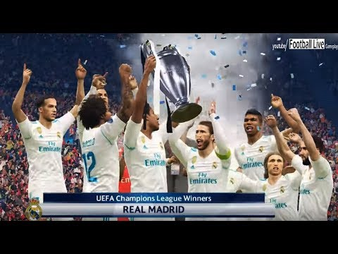 PES 2018 | Real Madrid vs Liverpool FC | Final UEFA Champions League | Gameplay PC