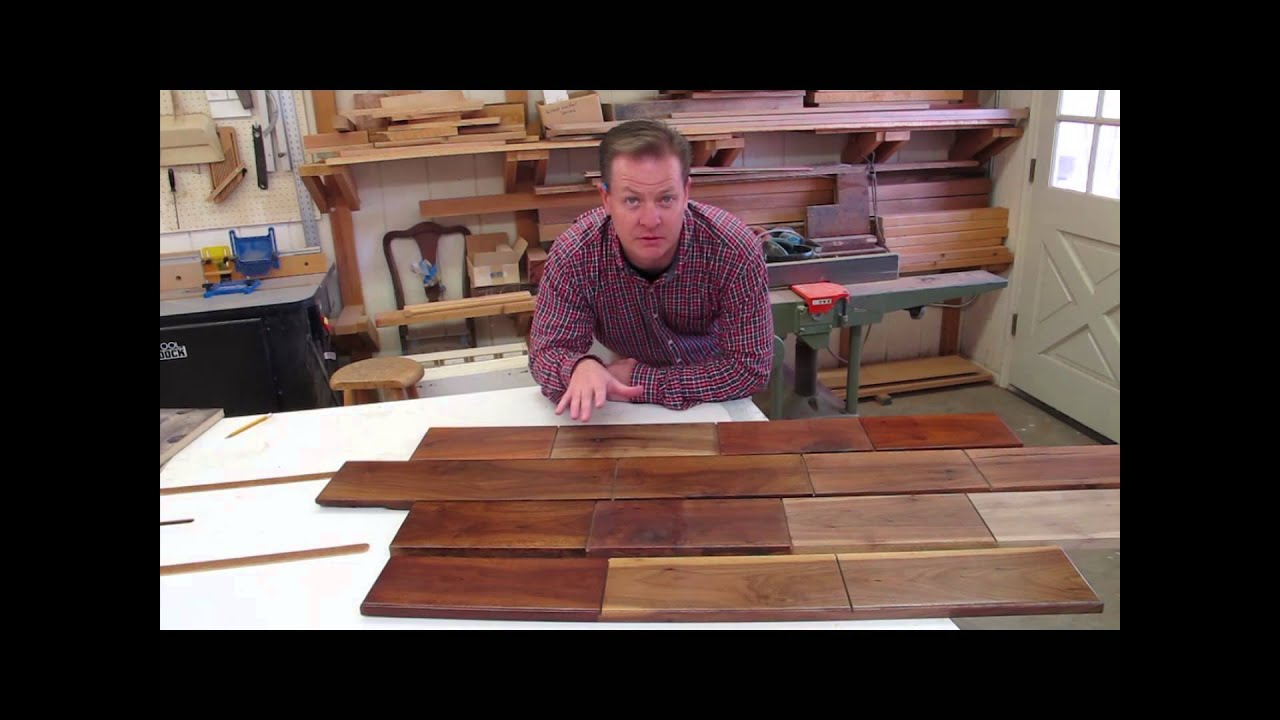 How To Finish Walnut for Great Color in Woodworking Projects - YouTube
