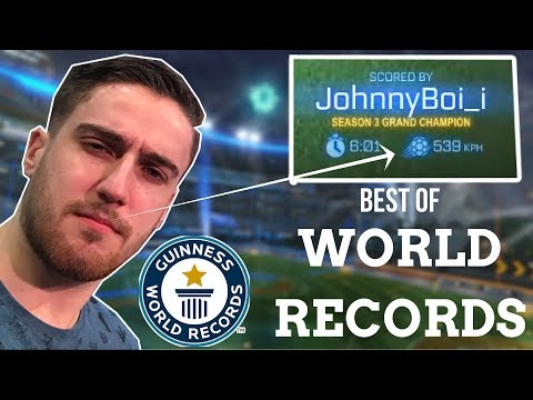 BEST OF WORLD RECORDS | Rocket League