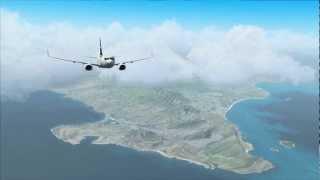 WestJet Flight 1863 Honolulu-Vancouver (FSX)