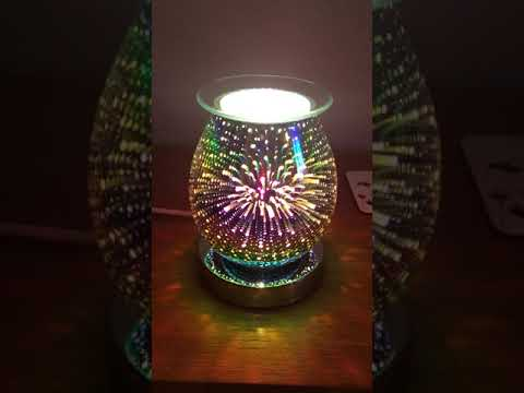 3d Firework Touch Sensitive Aroma Lamp Youtube