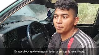 El taller de Douglas: Arreglando motores y cambiando vidas - El Salvador