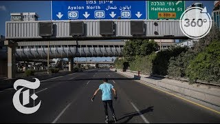 Skating Through Tel Aviv
