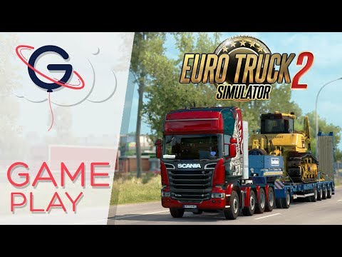 Euro Truck Simulator 2 : DLC Heavy Cargo Pack ! [❰❰ REPLAY]