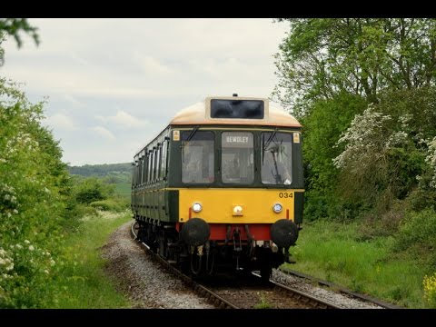 Chiltern Railways Bubble Car W55034 - 16th May 2017