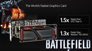 Тест: Radeon Pro Duo в игре Battlefield 4, качество FH, Ultra.