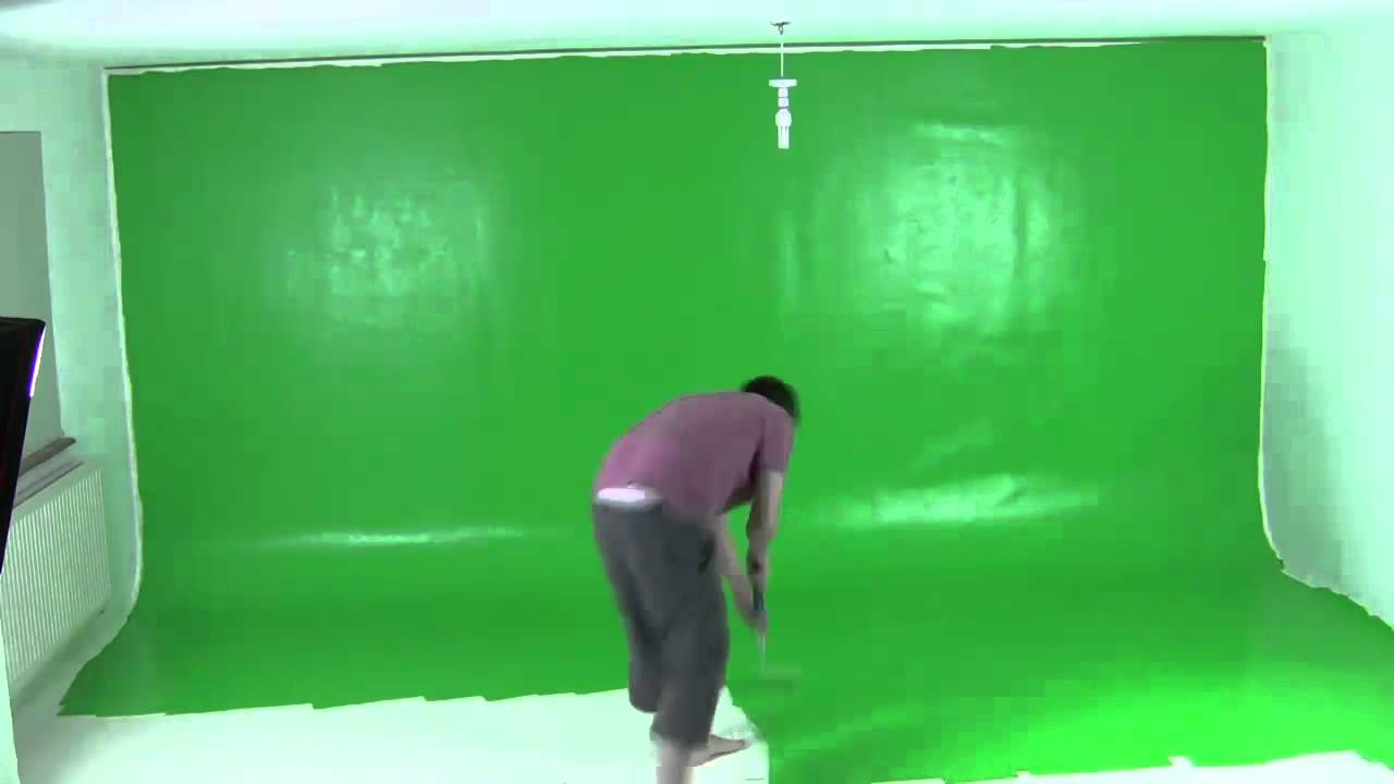 Painting A Green Screen In 60 Seconds