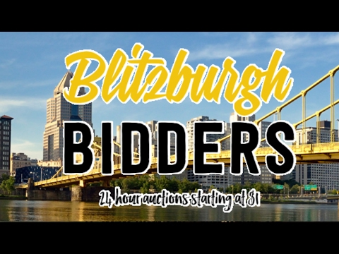 Blitzburgh Bidders   Pittsuburgh 24 hour dollar auction online auction business model