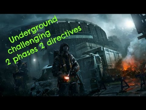 The Division: Underground 2 phase Op Challenging (running with he homies collecting that XP)