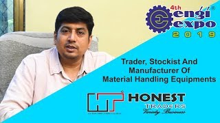 Trader, Stockist And Manufacturer Of Material Handling Equipments – MATERIAL HANDLING EXPO