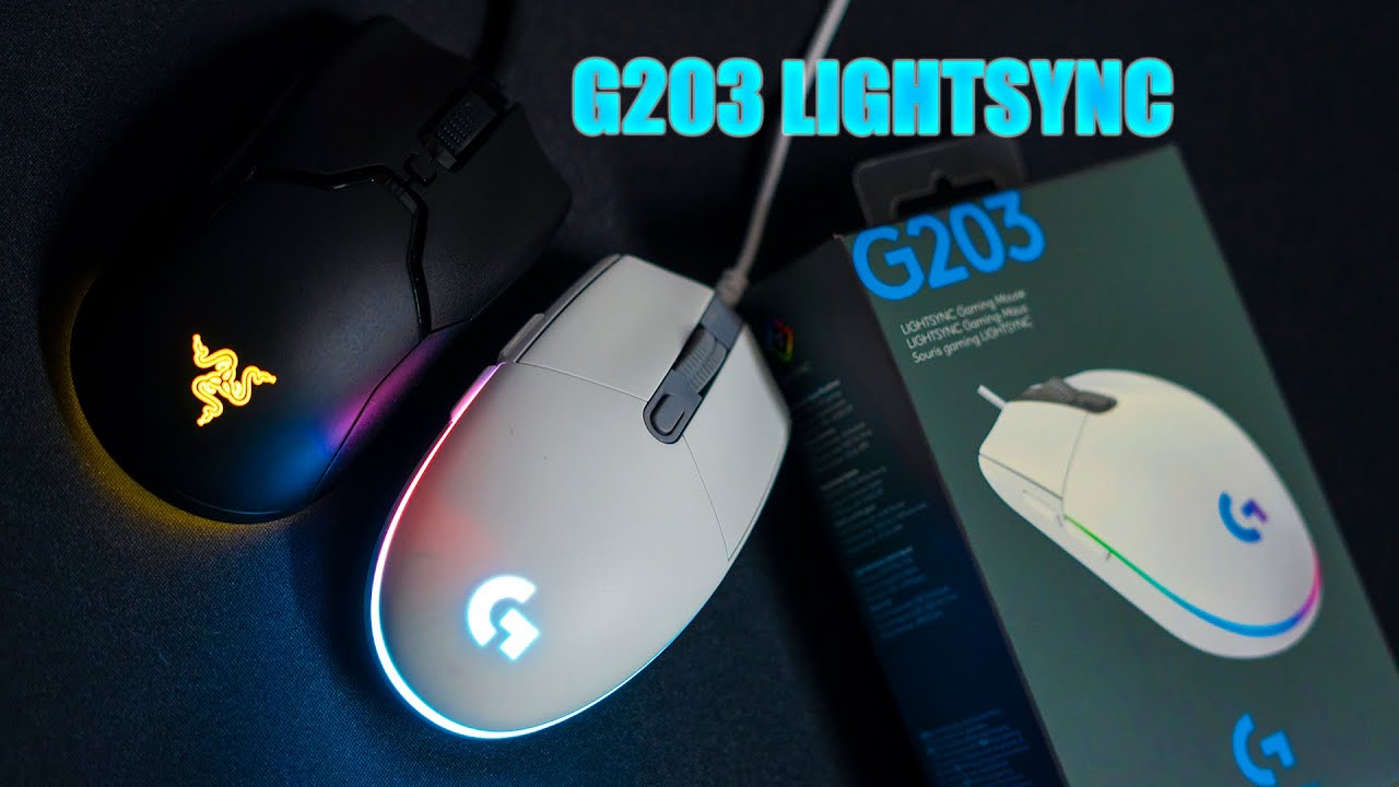Logitech G203 Lightsync