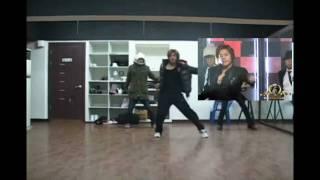 SS501 Hyun Joong 현중 only SEXY UR MAN レッスンスタジオでのダンス練...