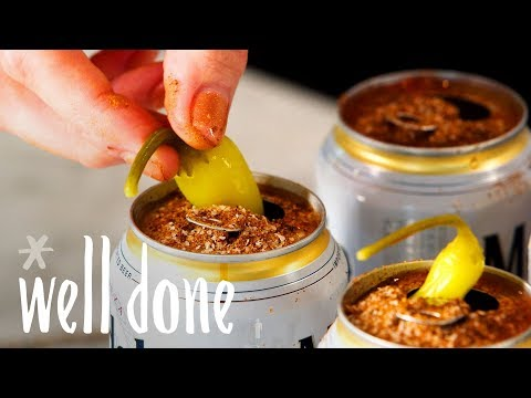 how-to-make-michelada-in-a-beer-can:-a-spicy,-tangy-and-portable-drink-|-recipe-|-well-done