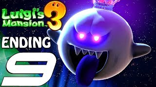 LUIGI'S MANSION 3 - Gameplay Walkthrough Part 9 - Ending & Final Boss (Full Game) Switch