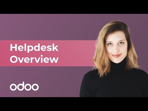 Helpdesk Overview   Odoo Helpdesk