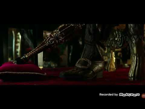 Pirates of  the Caribbean Dead Men Tell No Tales Barbossa First Scene HD