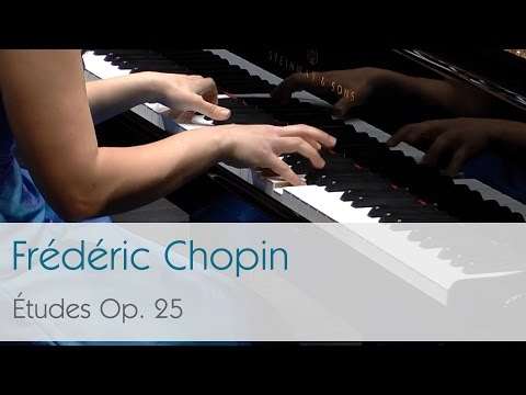 Frédéric Chopin - Études Op. 25 (complete) - Dinara Klinton