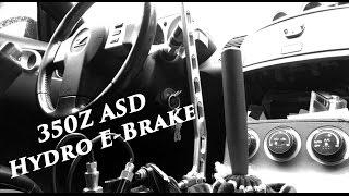 The Drift 350Z: ASD Hydro E-Brake Install