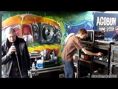 MARTIN CAMPBELL & AGOBUN SOUND  History Of Jamaica True Words'pt15 @ reggaebus festival 6 290717