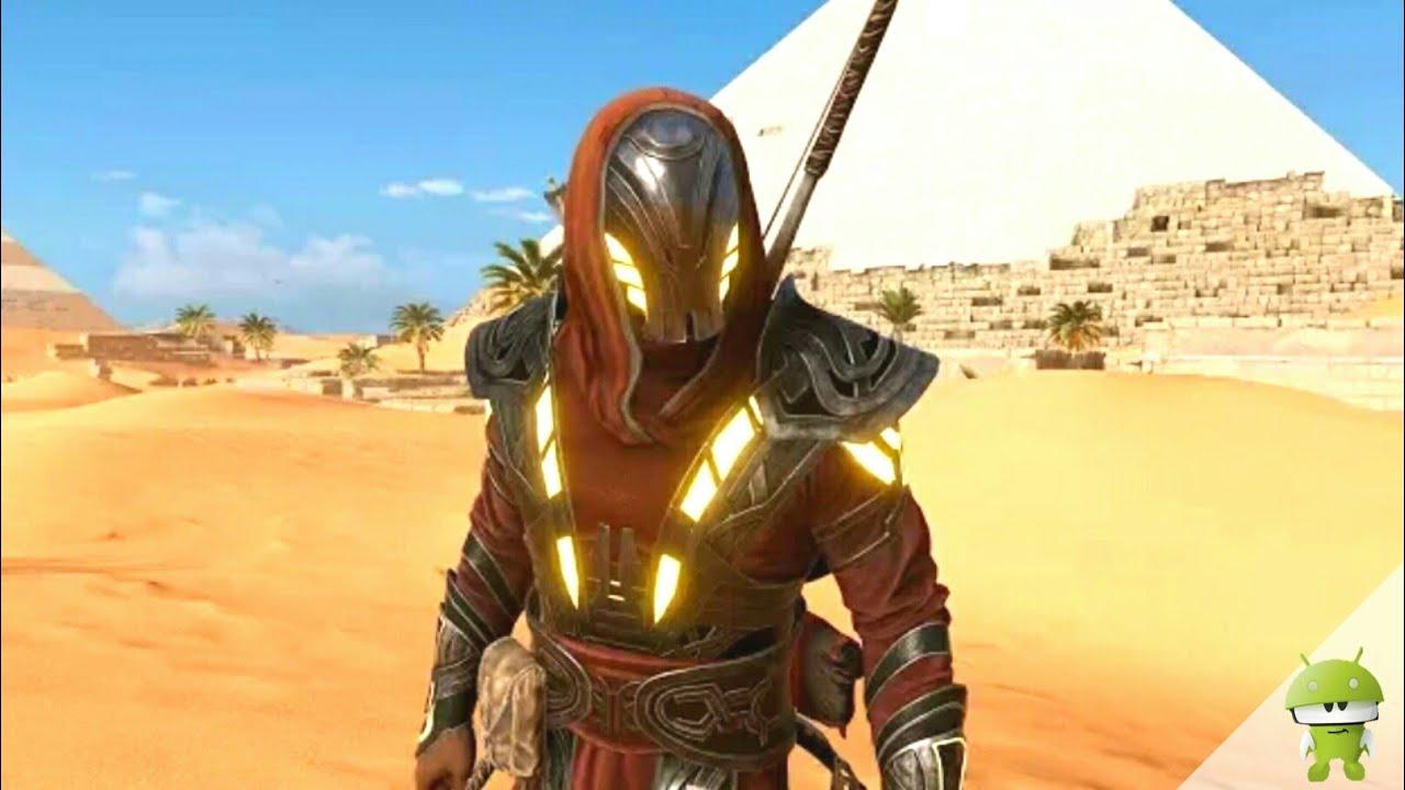 Assassinu0026#39;s Creed Origins - Best Outfit LEGENDARY Isu Armor Unlock Location u0026 Full Alien Message ...
